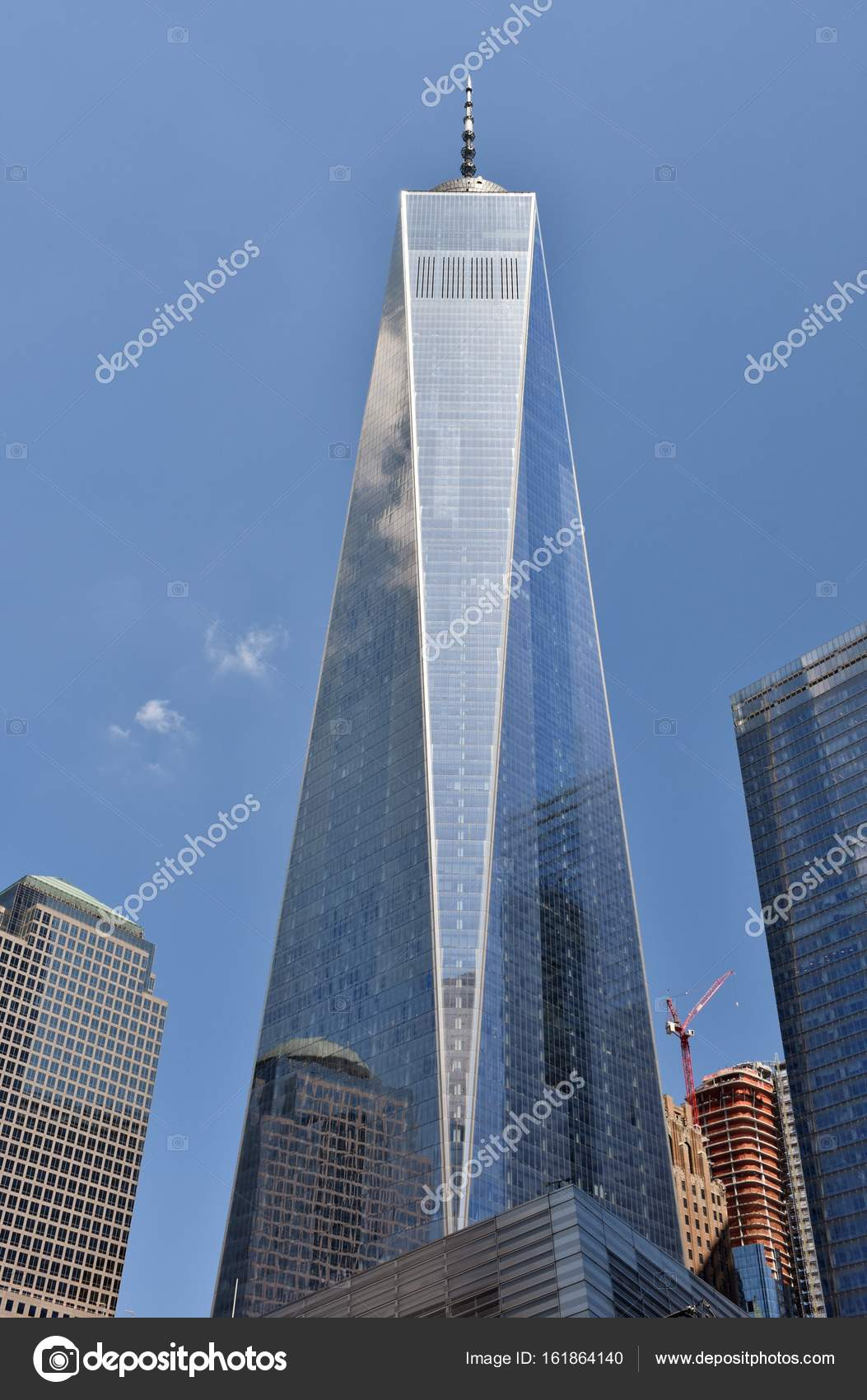 Freedom Tower One World Trade Center Redaktionelles Stockfoto