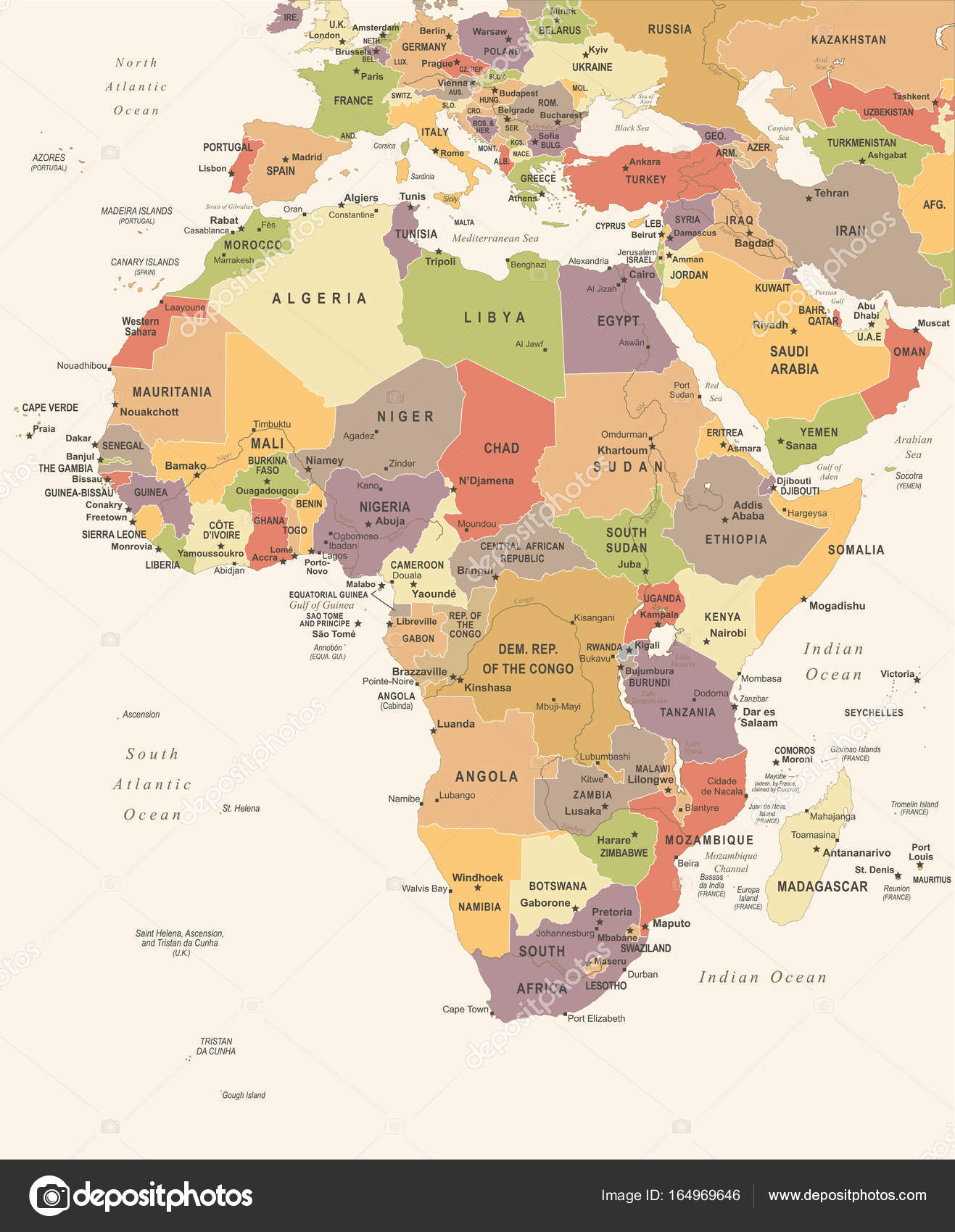 Afrika Karta Severe Weather Warning