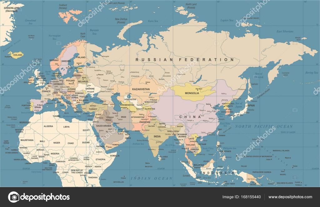 Eurasia europa russia china india indonesia thailand map vector eurasia europa russia china india indonesia thailand map vector illustration stock vector gumiabroncs Gallery