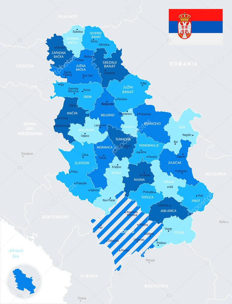 Picture of: Serbia Map Detailed Info Graphic Vector Illustration Premium Vector In Adobe Illustrator Ai Ai Format Encapsulated Postscript Eps Eps Format
