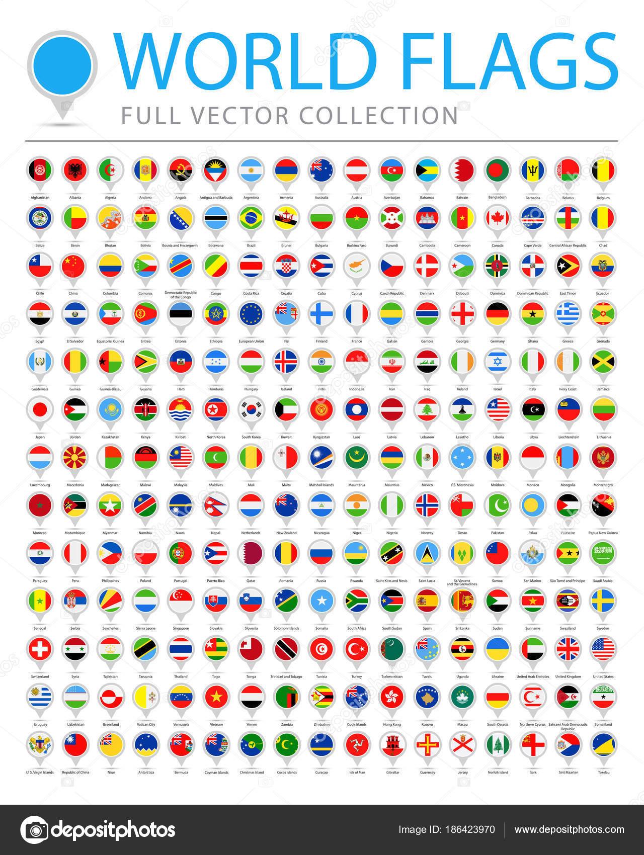 Imagenes de las banderas de todo el mundo