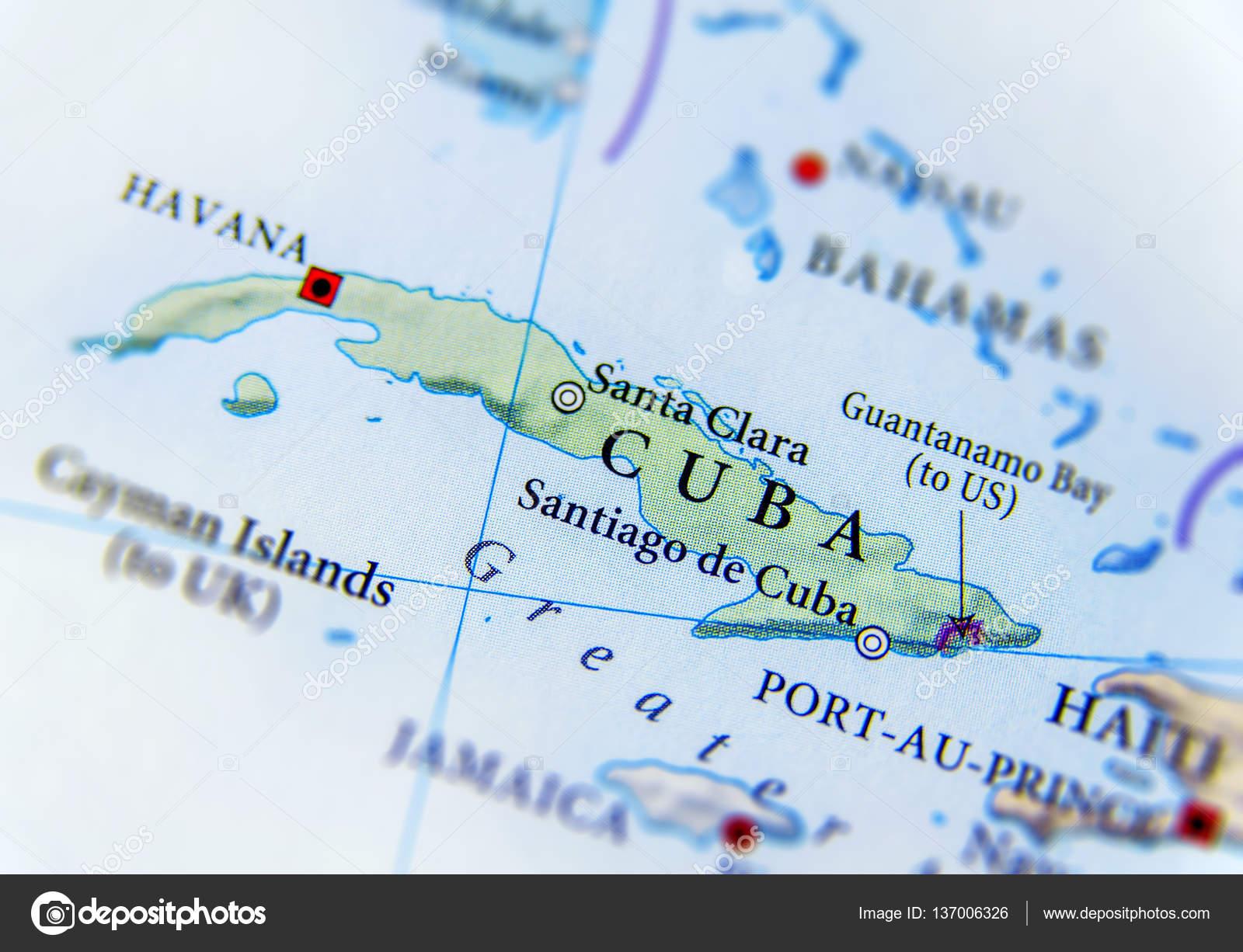 Cartina Geografica Haiti.Geographic Map Of Cuba Close Stock Photo Image By C Bennian 137006326