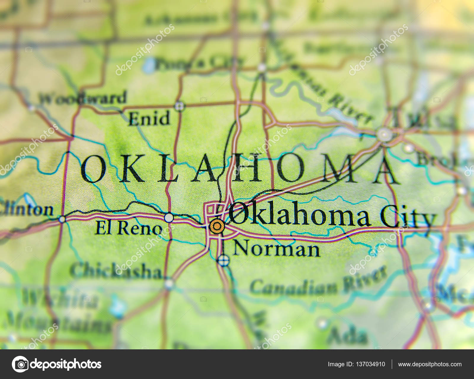 Geographic map of US state Oklahoma with important cities ... on mercator map of us, topographical map of us, topological map of us, ethnic map of us, printable map of us, equirectangular map of us, generic map of us, industry map of us, map map of us, education map of us, climatic map of us, transportation map of us, language map of us, microscopic map of us, housing map of us, sports map of us, artistic map of us, culture map of us, educational map of us,