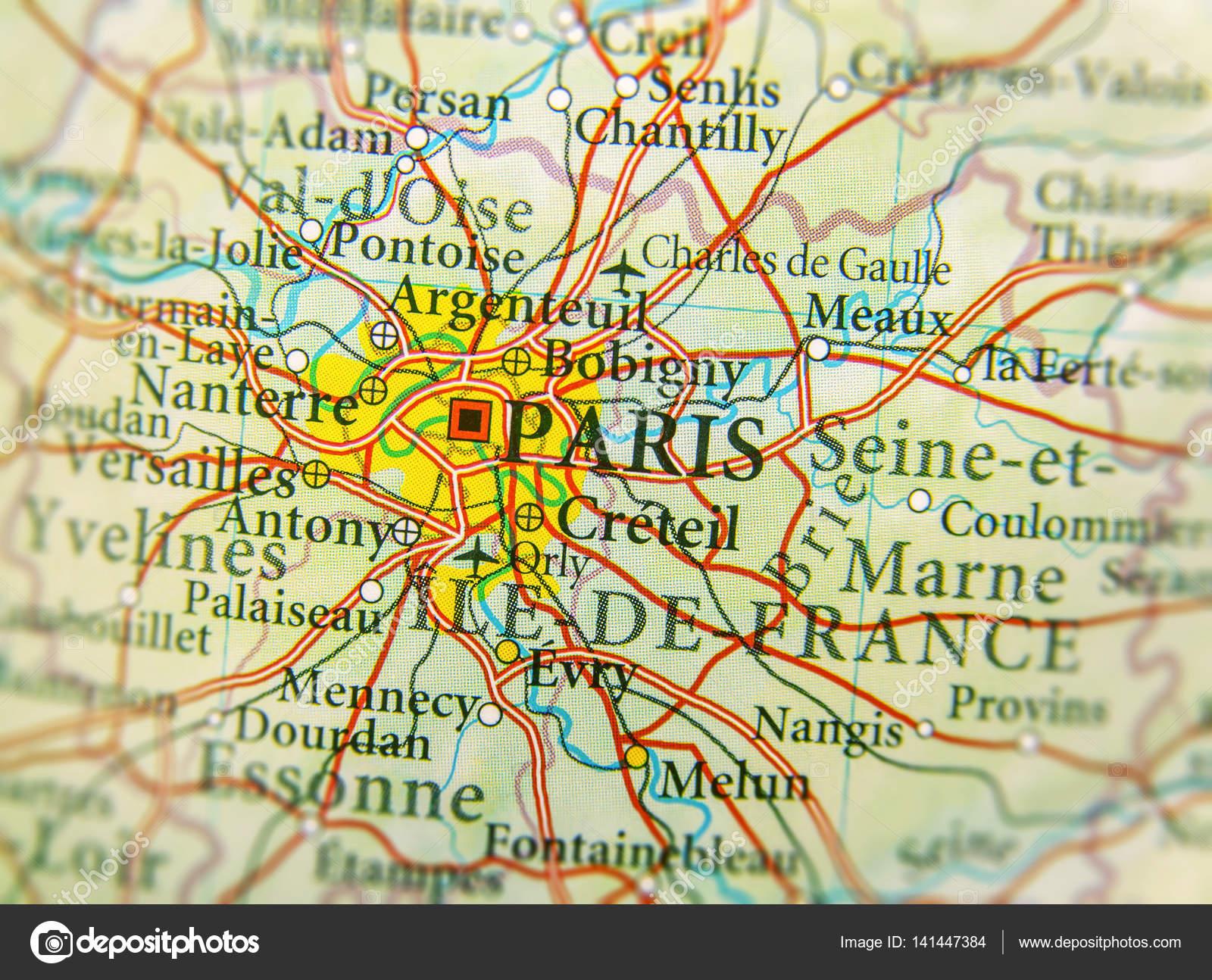 Carte De Leurope Avec Ses Capitales.Carte Geographique Des Pays D Europe France Avec Paris Capitale Cit