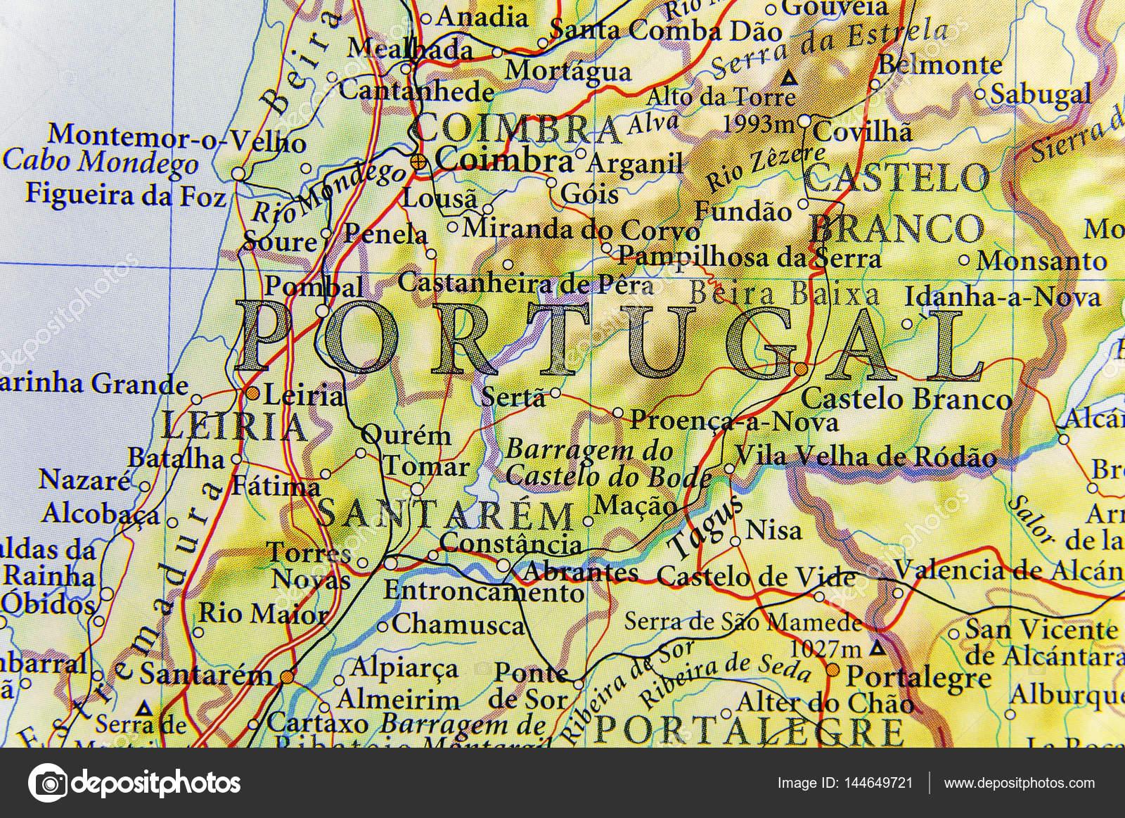 mapa geografico portugal Descargar mapa coimbra | Mapa geográfico de país europeo Portugal  mapa geografico portugal