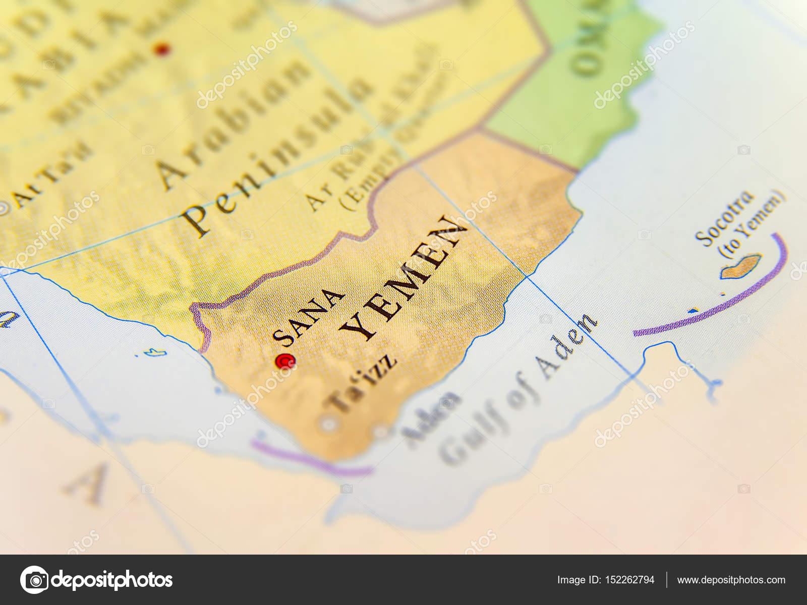 Cartina Geografica Dello Yemen