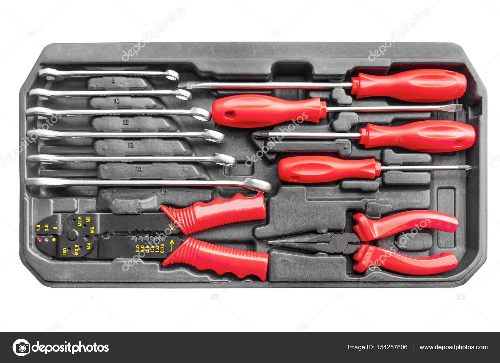 cd932a6b6b Set de herramientas mecanica automotriz para mantenimiento y reparación de  llave - imágenes: de herramientas automotrices — Foto de ...