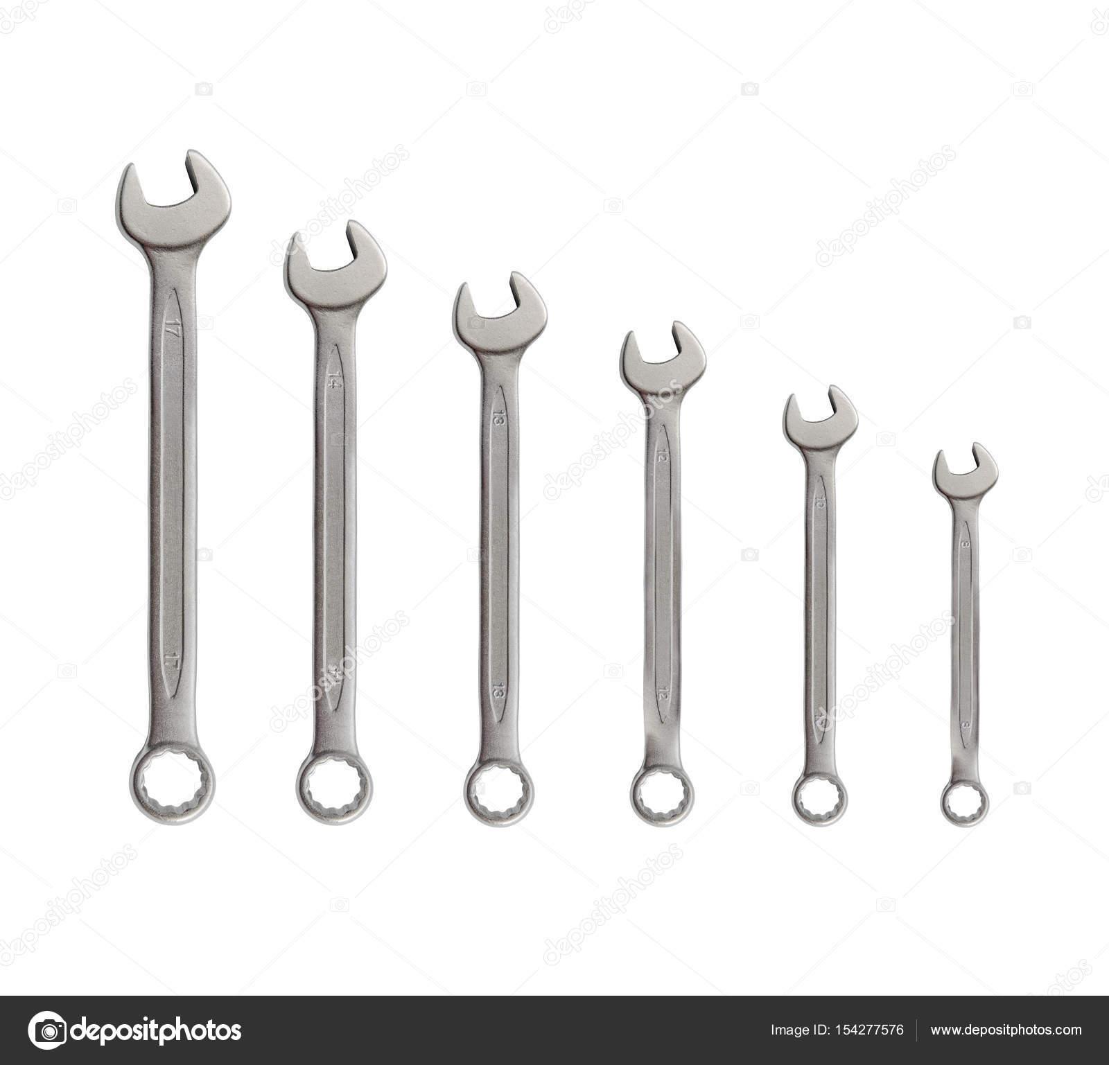 Wiersz Klucz Mechanik Srebrne Metalowe Narzędzia Do Napraw