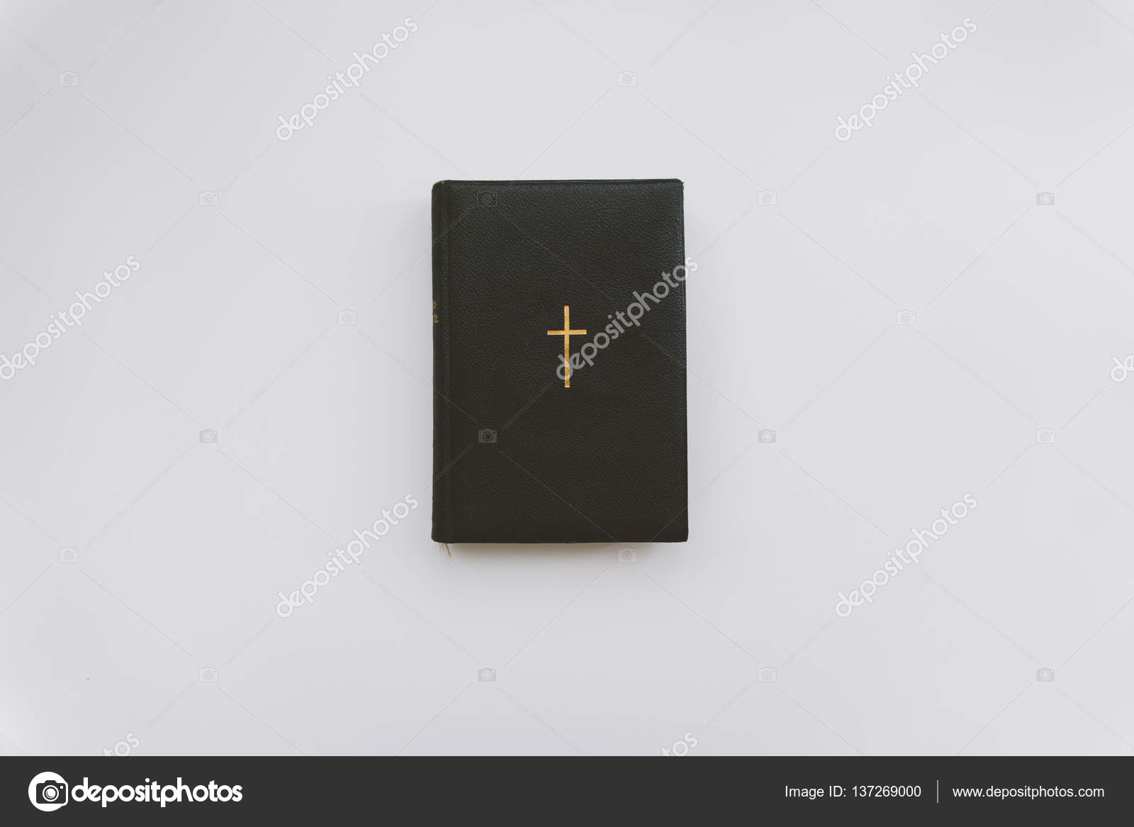 Catholic Book With A Gold Cross A Catholic Book With Gold Pages And