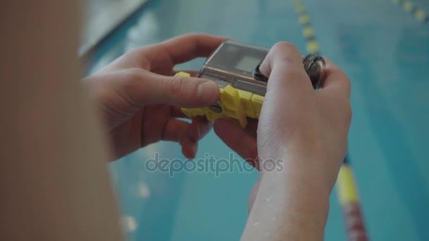 pomocí akce fotoaparát pro snímání pod vodou. Aktivní a extrémní životní styl