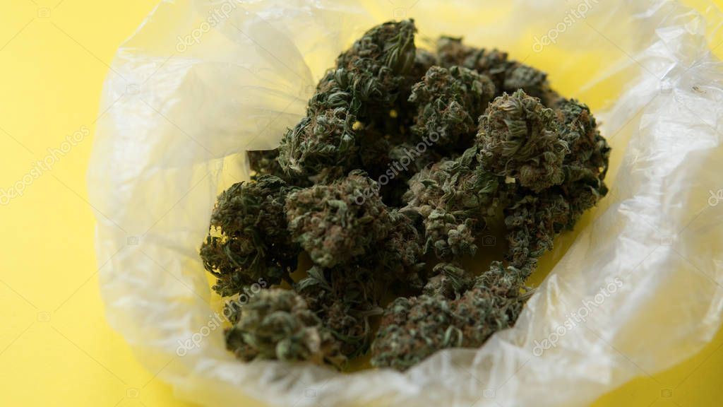 marijuana as the most popular drug in the world. Turnover of light narcotic substances in America