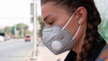 Veneto, İtalya 24 Şubat 2020: Coronavirüs enfeksiyonu Covid-19.