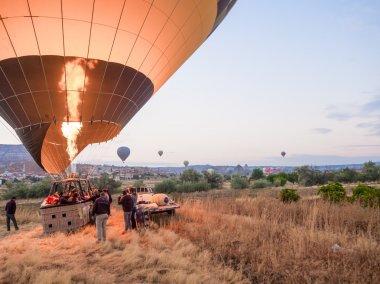 Balloon tour in Goreme.