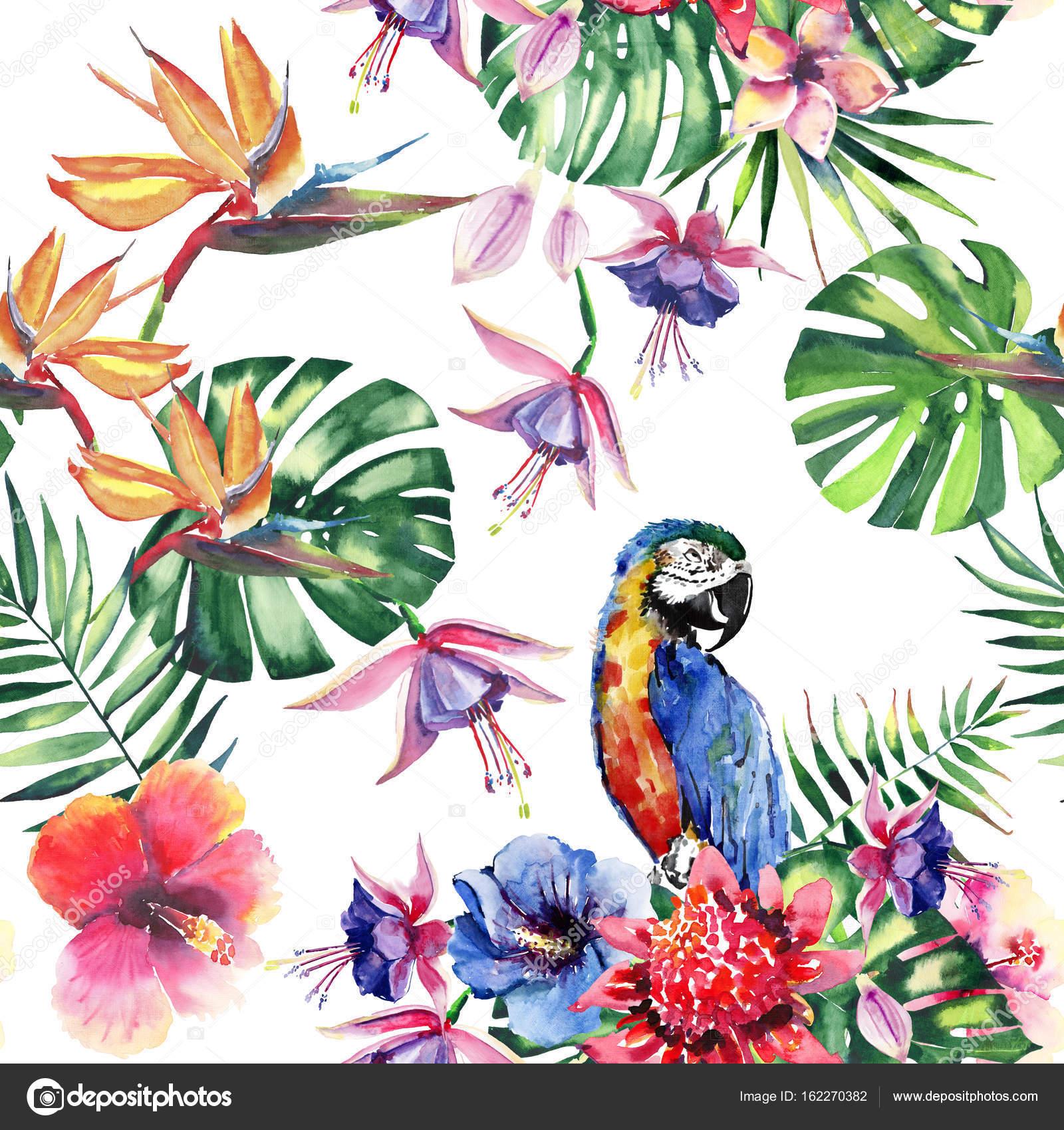 sch ne helle sch ne bunte tropische hawaii floral. Black Bedroom Furniture Sets. Home Design Ideas
