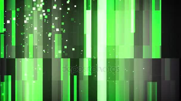 Zöld rács részecskék