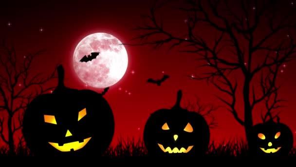 Halloween Pumpkings Hold világos piros