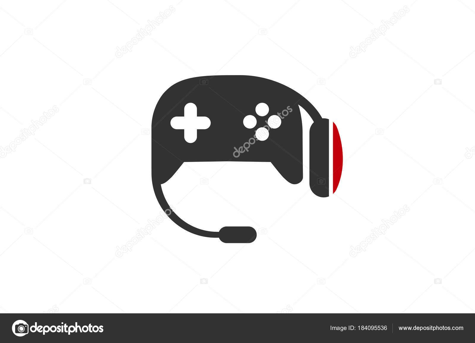 Ilustracion Diseno Logo Juegos Archivo Imagenes Vectoriales