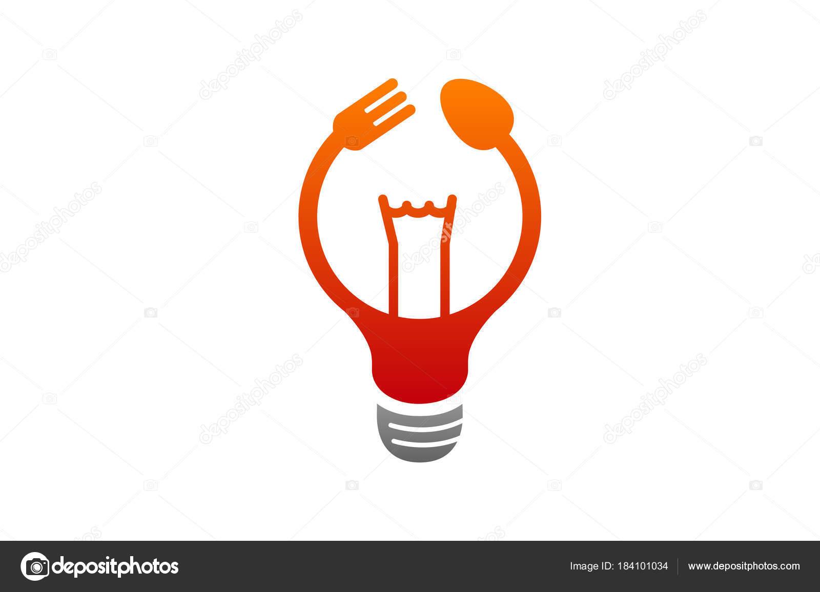 Cocina Idea Logo Diseño Ilustración — Vector de stock © Guru86 ...