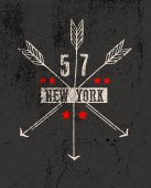 New York city grafika