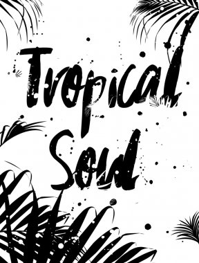 tropical soul travel poster