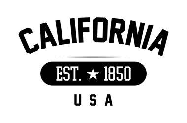 California print lettering