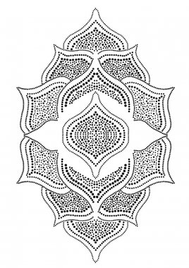 decorative ornament lace element