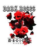 Vintage Rose Print in Rock Style
