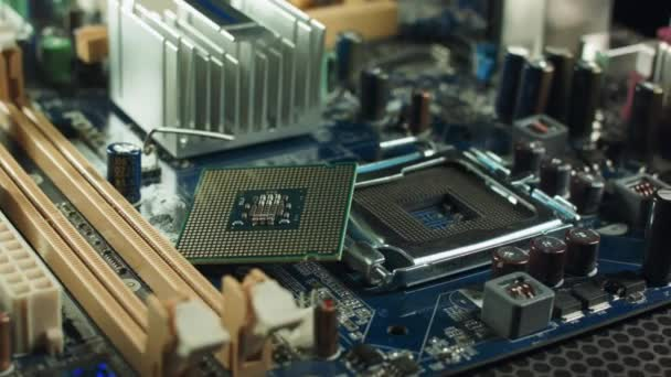 a Cpu fekszik a mellé a foglalat chipset alaplap