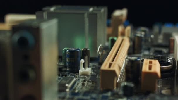 elektronikai alkatrészek, a modern pc-számítógép-alaplap