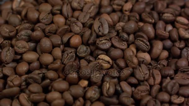 detail kávová zrna pozadí