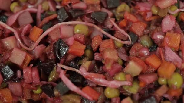 healthy foods from beets and mixed vegetables closeup in a bowl organic food without meat