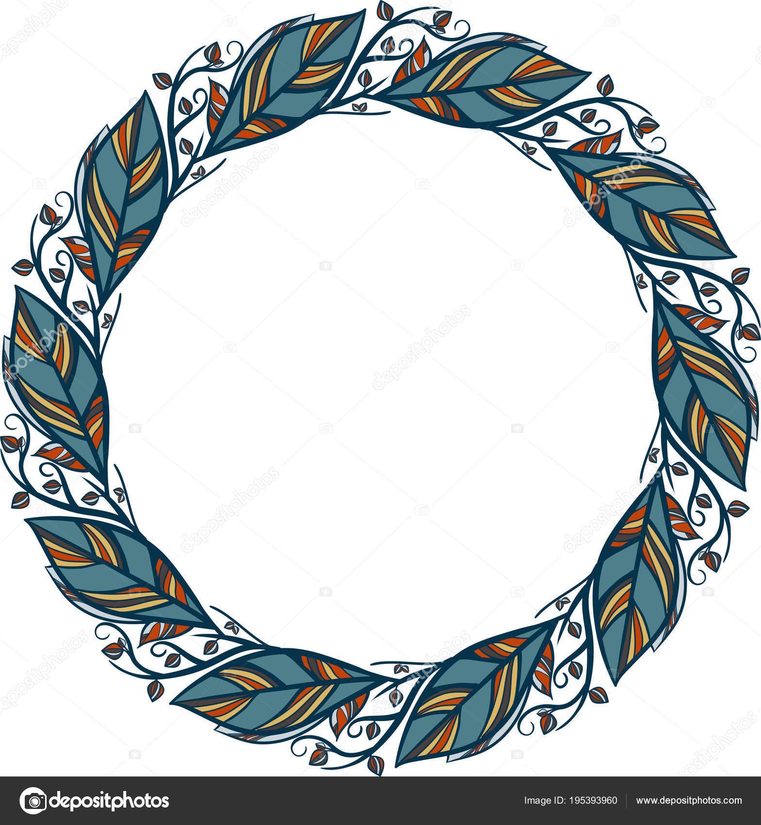 Decorative Line Art Frames Design Template Elegant Vector Element ...
