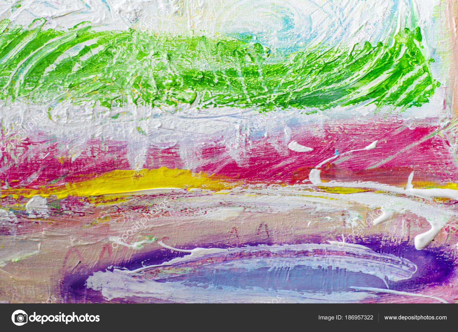 main a attiré la peinture acrylique. contexte de l'art abstrait