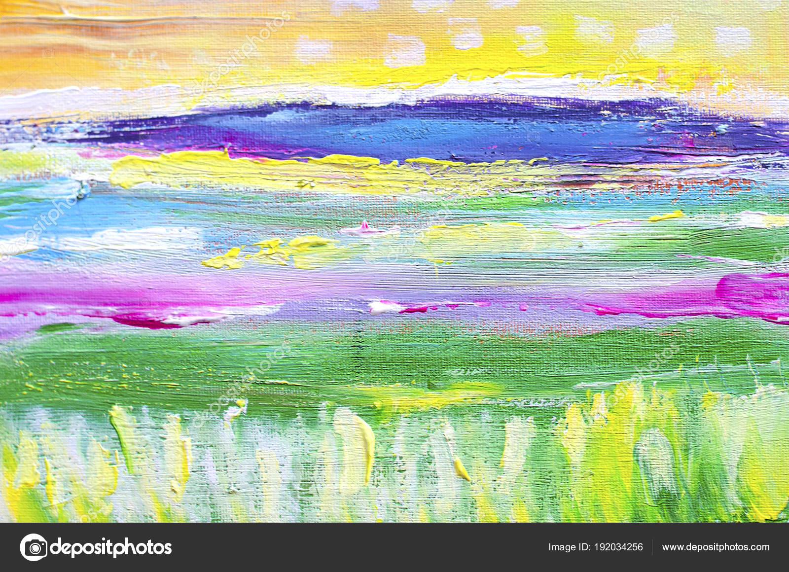main attiré peinture acrylique contexte art abstrait peinture