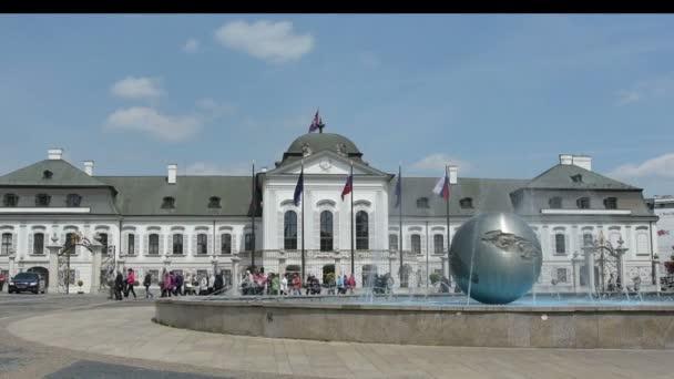 Grassalkovich presidential Palace in Bratislava.