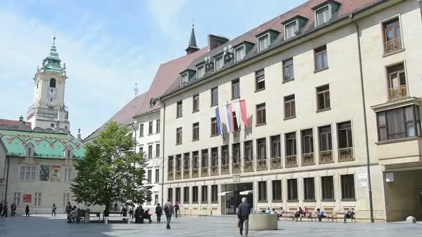 Radnice v Bratislavě.