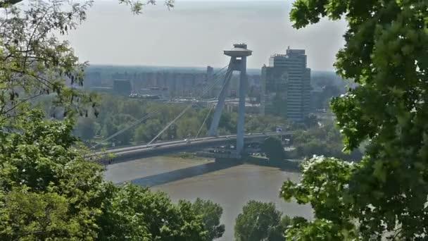 Panorama z Bratislavy