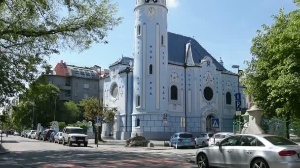modrý kostel v Bratislavě