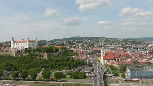 Provoz na silnici v Bratislavě