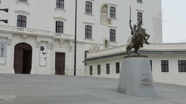Socha Svatopluka v Bratislavě