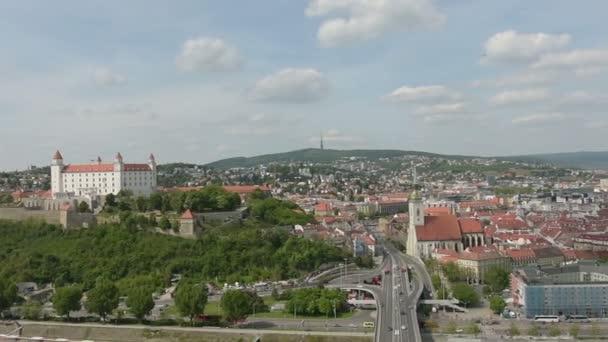 Panoramatický pohled na Bratislavu