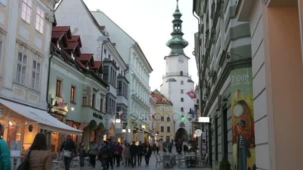 Ulice v centru Bratislavy
