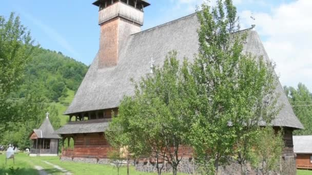 The wooden church in Ieud, Romania