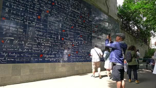 Je taime zeď v Paříži