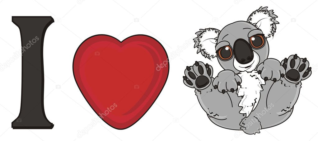 Koala dei cartoni animati modello d c d free d
