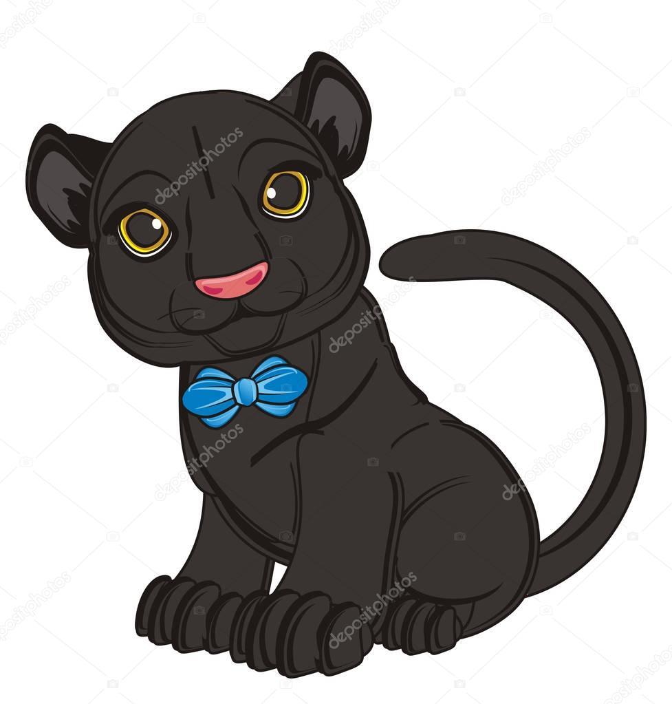 Panther Gezeichnet