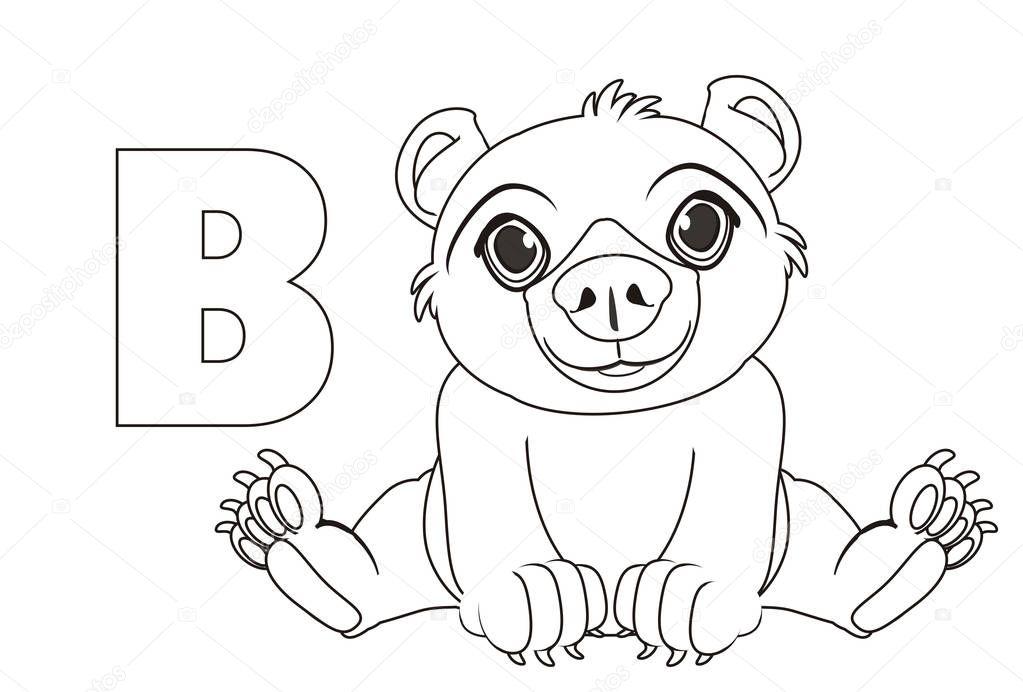 Fantastisch Malvorlagen Aus Dem Alphabet B Zeitgenössisch - Beispiel ...