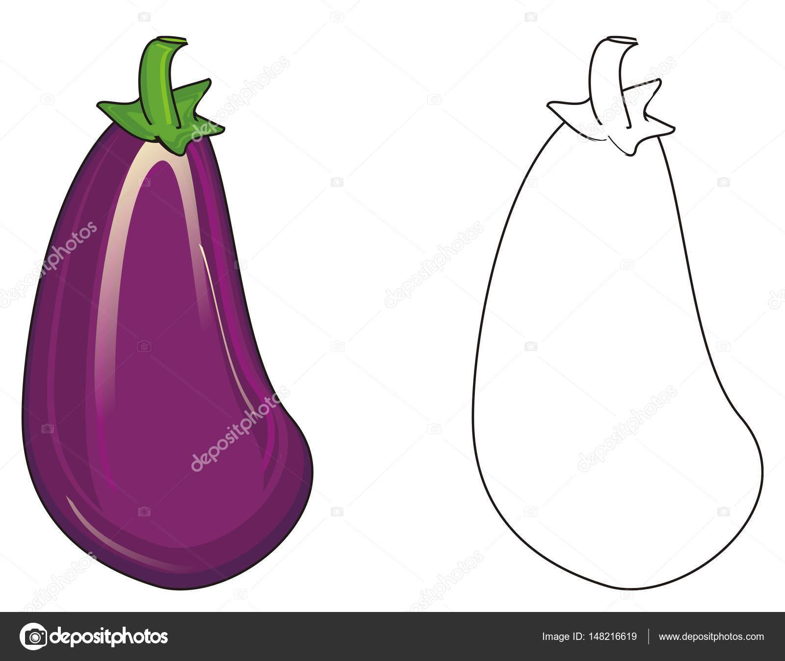Iki Farklı Patlıcan Stok Foto Tatty77tatty 148216619