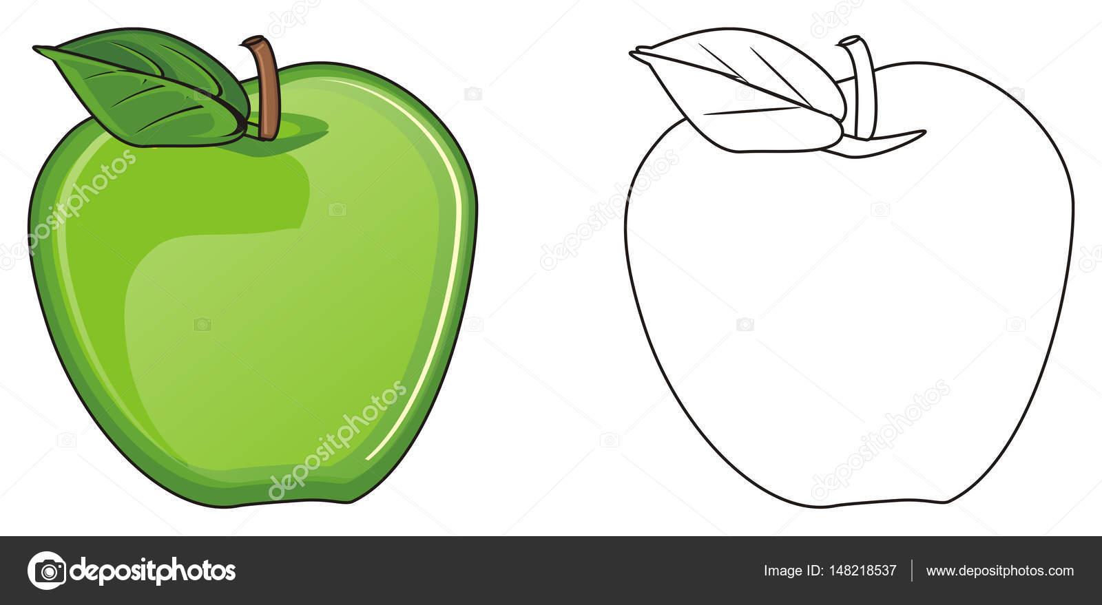 dos manzana diferente — Fotos de Stock © tatty77tatty #148218537