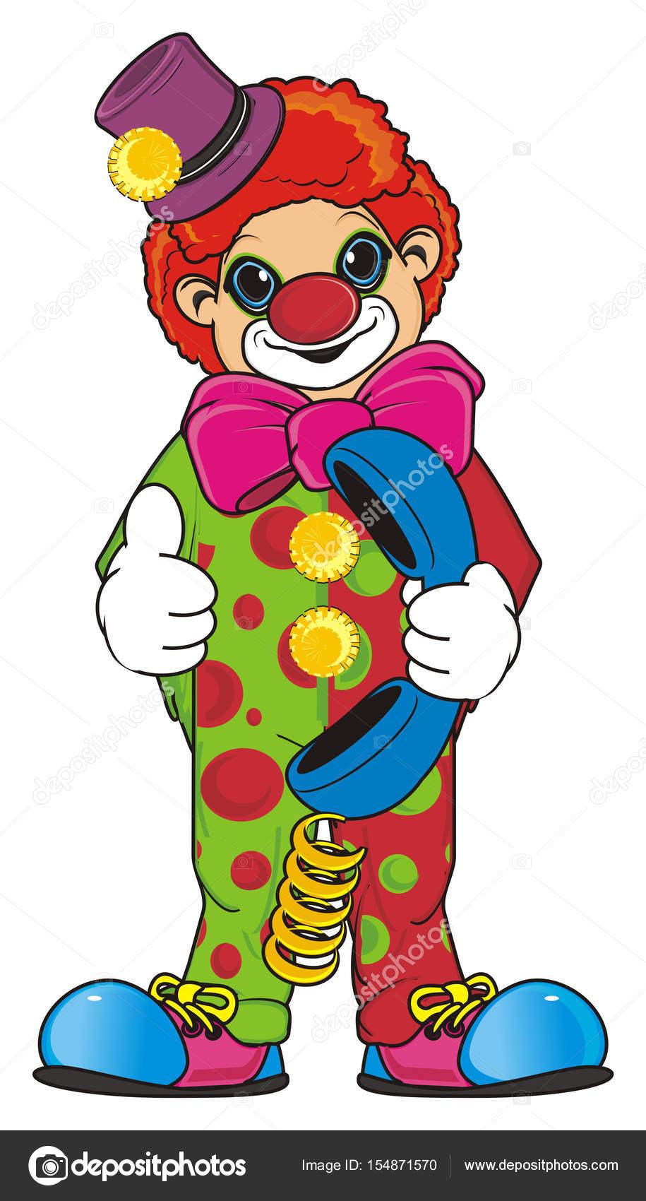 Smiling Colored Clown Stock Photo C Tatty77tatty 154871570